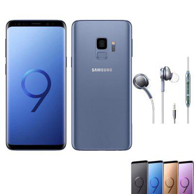 Samsung Galaxy S9 6/64GB  SIM  5.8 Inches Android 8.0 Octa-core 4x2.8 GHz 3000mAh Battery Smartphone Global Version Image