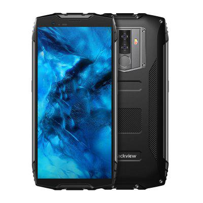 Blackview BV6800 Pro 5.7 Inch Wireless Charge smartphone MT6750T Octa Core 4GB/64GB 6580mAh Face ID 4G NFC Waterproof mobile