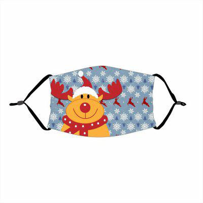 Merry Christmas Gift Decorations For Home Xmas Decor Navidad Santa Claus Deer Bear Happy New Year 2021 Mask