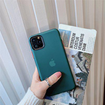 Solid Colored  TPU Case with Screen Protect for Apple iPhone 11 Pro Max X XR XS Max 8 Plus 7 Plus 6 Plus SE Multicolor Candy Back Cover new iphone case for iphone 11 for iphone11 pro max 5 8 inches 6 1 inches 6 8 inches 6 6s 7 8 plus ix xr max x fashion back cover