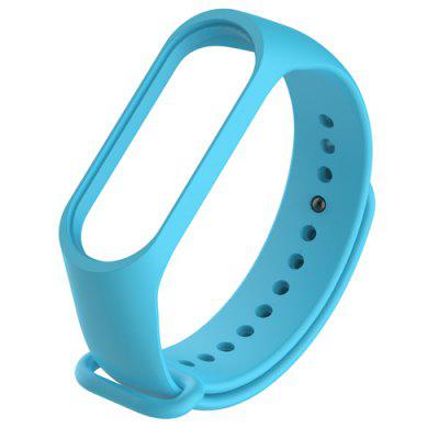 Bracelet for Xiaomi Mi Band 5 Sport Strap Silicone Wrist Strap For Xiaomi Mi Band 5 Bracelet Miband 5 Replacement Strap