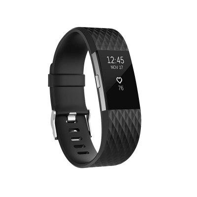 Silicone Replacement Watchband For Fitbit Charge 2 Band Smart Accessories Bracelet Wrist Strap for Charge2 Smartwatch Band Loop