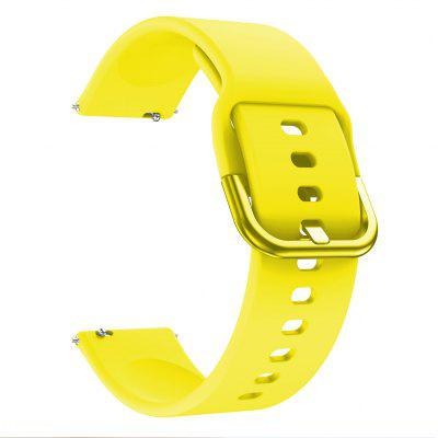 20mm Silicone Watchbands Strap for Samsung Galaxy Watch Active 42mm Gear Sport S2 Bracelet Band for Samsung Galaxy Active 2 40mm 44mm