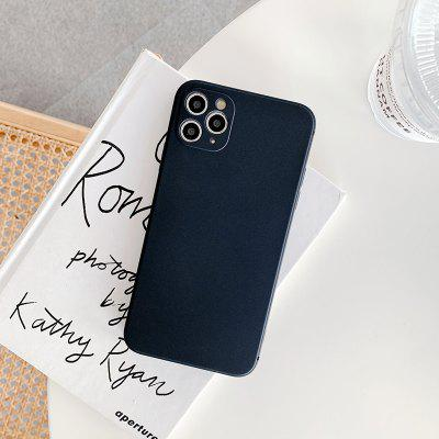 Solid Colored TPU Case For iPhone 12 Mini Pro Max 11 X XS XR 7 7plus 8 8plus Shockproof Phone Cover