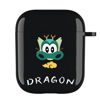 Cartoon TPU Headphone Case for Airpods 1&2 Shockproof Bluetooth Wireless Earphone Protective Cover