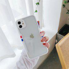 Fashion Acrylic Phone Case for iPhone 12 11 Pro Max X Xs Xs Max XR 7 7plus 8 8plus 6 6s Plus iPhone SE2020 Shockproof Protective Case Cover
