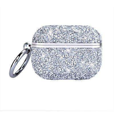 Luxury 3D Cute Bling Diamonds Wireless Bluetooth Earphone Accessories Hard Case for Apple Airpods Pro 2 1 Protective Charging Bag