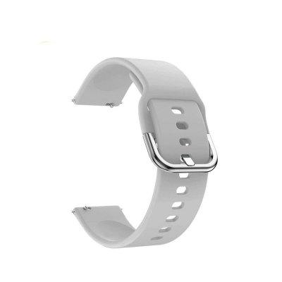 20mm Smartwatch Band Silicone Straps Watchbands for Samsung Galaxy Watch Active 42mm Gear Sport S2 Bracelet Band for Samsung Galaxy Active 2 40mm 44mm