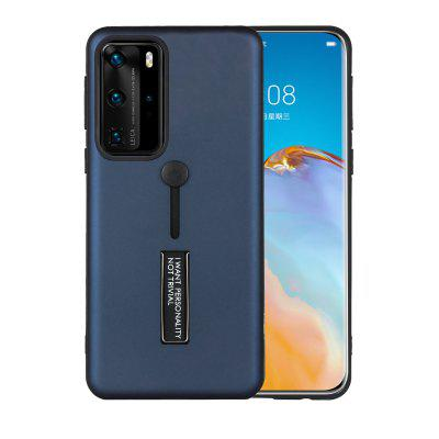 Armor Shockproof Case for Huawei P40 P30 P20 Pro Lite / Mate 30 20 Honor Solid Color Protective Cover Shell