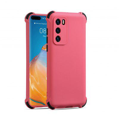 Two-color Shockproof Silicone Case for Huawei P40 P40pro Protective Cover
