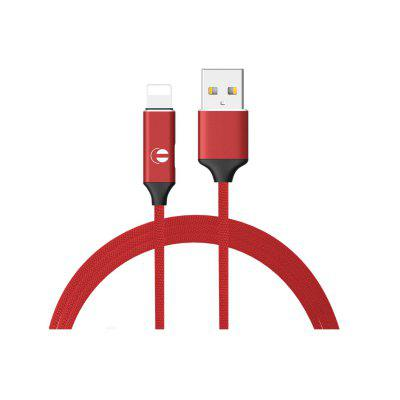 1M USB3.0 2 in 1 USB to 8pin Multi-function Adapter Weave Cable Compatible with iPhone Digital Device + Sync Data Music Control Converter Charging