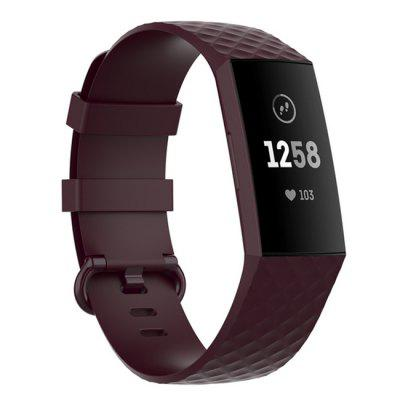 Smart Watch Silicone Strap for Fitbit Charge 3 SE Band Replacement Wristband Charge4/3SE smart Sport Bracelet 4