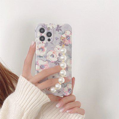 Fashion Bead Chain Phone Case for iPhone 12 11 Pro Max X Xs XR 7 8 plus SE Shockproof Cover Cases