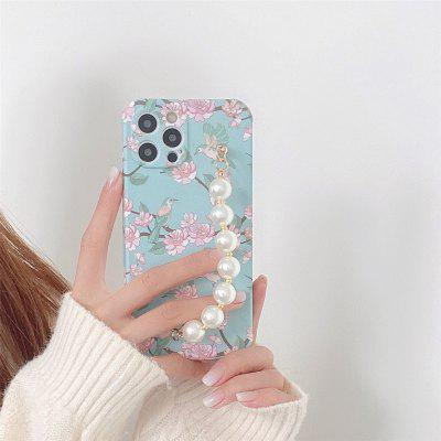 Fashion Bead Chain Phone Case for iPhone 12 11 Pro Max X Xs Xs Max XR 7 8 plus SE Shockproof Cover Cases 3 in 1 wireless charger 10w fast charging for iphone 11 pro xr xs max 8 plus for apple watch 5 4 3 2 for airpods with eu charger