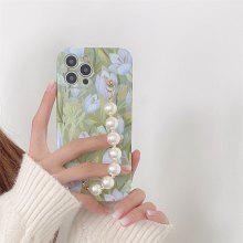 Fashion Bead Chain Phone Case for iPhone 12 11 Pro Max X Xs Xs Max XR 7 8 plus SE Shockproof Cover Cases