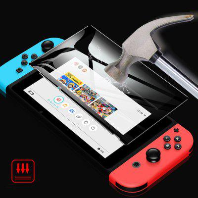 Anti-scratch Tempered Glass Screen Protector Kit for Nintendo Switch 9H