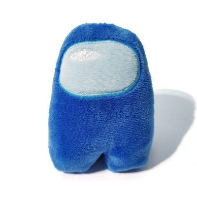 Cohude 10cm Stuffed Among Us Game Role Plush Toy Adorable Small Multicolor Doll Gift Table Room Window Display for Boys & Girls