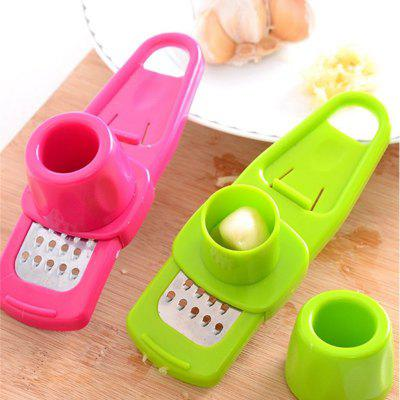 1Pcs Stainless Garlic Press Household Manual Device Kitchen Squeezer Ginger Tools Accessories