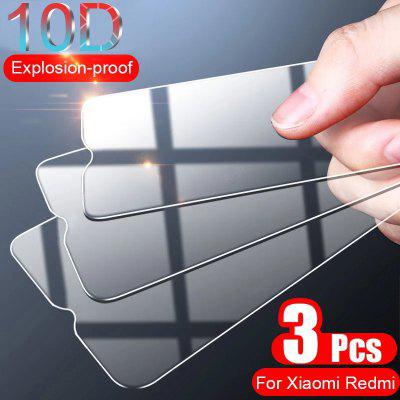 3Pcs Full Cover Protective Glass For Xiaomi Redmi Note 7 9 5 8 Pro 8T Max Tempered Screen Protector Plus