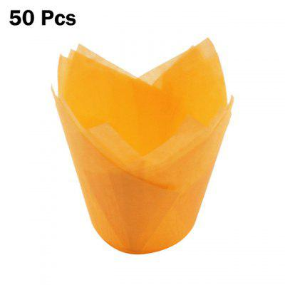 Фото - 50pcs Newspaper Style Cupcake Liner Baking Cup For Wedding Party Caissettes Tulip Muffin Cupcake Paper Cup Oilproof Cake Wrapper 50pcs at24c02 24c02 sop8