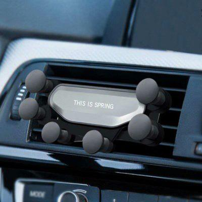 Automatic Clamping Air Outlet Car Phone Holder Gravity