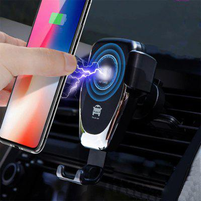 Qi 10W Car Fast Wireless Charger Mobile Phone Holder