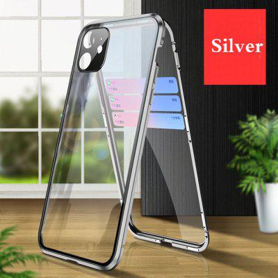 Magnetic Absorption 360 Full Cover Metal for IPhone12 11 Pro Max Mini X XR XS Double-sided Glass Mobile Phone Protective Case  Camera Lens Protectiv launch x431 pro mini with bluetooth function full system 2 years free update online mini x 431 pro powerful auto diagnostic tool