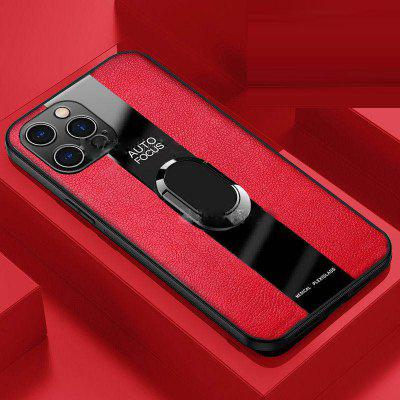 All-inclusive Circular Leather Silicone Soft Shell Camera Phone Screen Anti-drop Protective Case for Iphone12 11 Pro Max Mini X XR XS