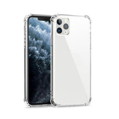 Degree Airbag Dropproof Soft Case for Iphone 12 11 Pro Max Mini X XS XR Anti-Knock Clear Transparent Silicone Cover