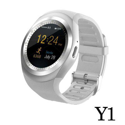 Y1 Smart Watch Round Bluetooth Support Nano SIM TF Card Men Women Business Smart Watch For IOS Android
