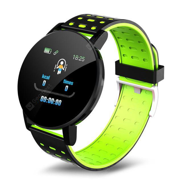 """""""119 Plus Wristband Heart Rate Smart Watch Man Smart Bracelet Sports Smart Band Waterproof Smartwatch Android With Alarm Clock"""" 3"""