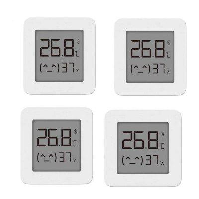 4PCS Original Xiaomi Mijia Bluetooth Thermometer 2 Wireless Smart Elektrische Digital Hygrometer Arbeit mit APP