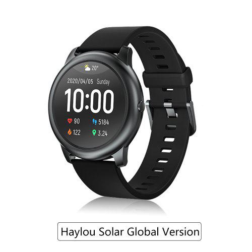 Haylou Solar Smart watch LS05 Sports Metal Heart Rate Sleep monitor IP68 Water density iOS Android Global Version