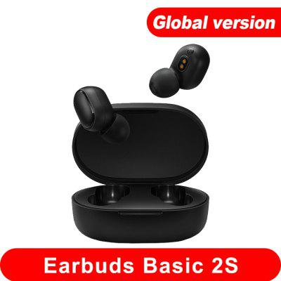 Фото - 2021 Xiaomi Mi True Wireless Earphones Basic 2s Headset Bluetooth 5.0 Touch Control TWS Gaming Mode Global Headphones on Stock lenovo x9 tws wireless earbuds headphones bluetooth hifi sound quality earphones headset