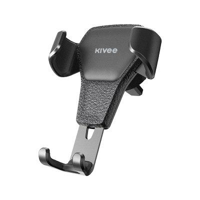 Kivee UC12 Universal Car Phone Holder for Stand Steady Fixed Bracket Support Gravity sensing Auto Grip Mobile