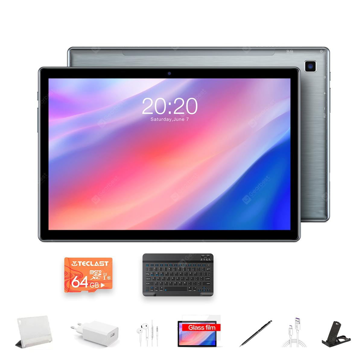 TECLAST P20HD 10.1-inch 4G Tablet Android 10.0 SC9863A Call Eight-core 1.6GHz 4GB RAM 64GB Bluetooth 5.0