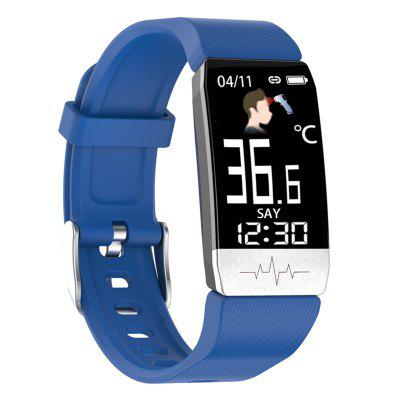 T1S ECG And Temperature Smart Watch + PPG Multi Function Blood Pressure Heart Rate Bracelet