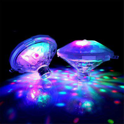 Floating Underwater Light RGB Submersible LED Glow Show Swimming Pool Hot Tub Spa Lamp Baby Bath