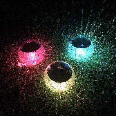 Outdoor Solar Colorful Floating Lamp Pond Magic Ball Garden Decoration Pool