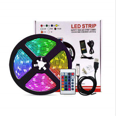 5050RGB Lamp With USB TV Background Decorative Light Bar Remote Control Package