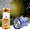LED Multifunctional Stretchable Lantern Solar Energy USB Charging Outdoor Camping Lamp Camping Supplies Tent Light