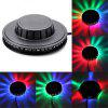 Mini 48 LEDs  RGB  Laser Projector Lighting Disco Stage Light Bar DJ Sound Background Wall Light Christmas Party Lamp