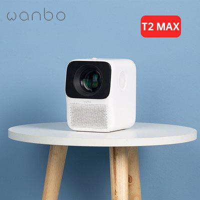 Фото - Global Version WANBO T2 Max Projector 1920x1080 Horizontal Vertical Correction 250 ANSI Lumens with Android System Support 4K rigal rd817 led android projector 3500 lumens smart wifi projector video hdmi usb full hd 1080p projetor tv home theater beamer