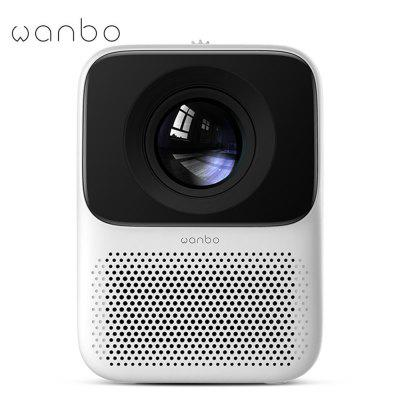 Фото - Global Version WANBO T2M LCD Projector 1080P Vertical Correction 200 ANSI Lumens LED Portable Mini Home Theater Projector HDMI bilikay yg230 hd led portable mini projector video for home theater game movie cinema 1080p projector