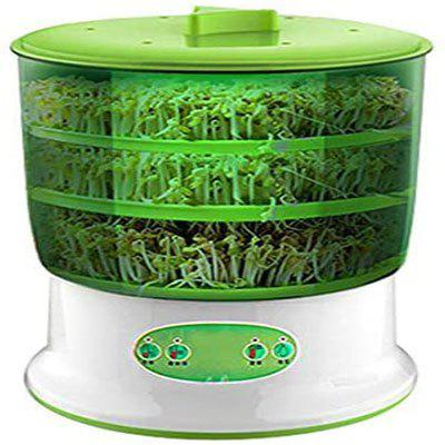 Intelligent Bean Sprout Machine Automatic Growing Thermostatic Bean Sprout Machine With Large Capacity 2 Or 3 Layers Function