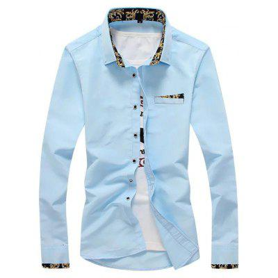 Fashion Slim Men's Shirt Comfort