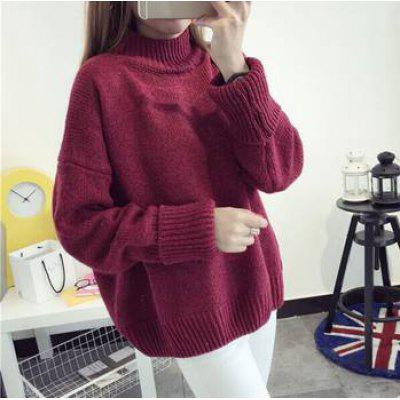 Fashion Loose Knitted Pullover
