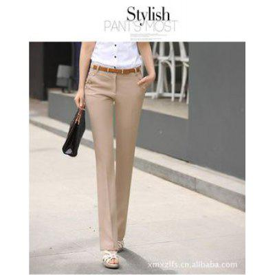Fashion And Leisure Temperament Slim Big Size Trousers