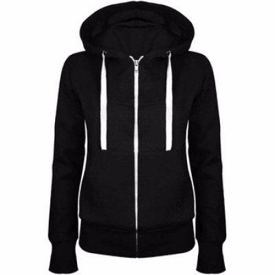 Zipper Long Sleeve Casual Hoody
