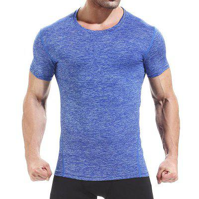 Herren Sport Tights Tees T-Shirt